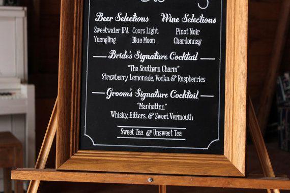 Wedding Bar Menu, Chalkboard Sign, Chalkboard Bar Menu, Bar Menu, Chalkboard Bar Menu, Custom Bar Menu, Custom Wedding Chalkboard Bar Menu #chalkboardbarmenu #chalkboardbarsign #weddingbarmenu #weddingchalkboardbarmenu #weddingchalkboardsign #weddingchalkboardsignideas
