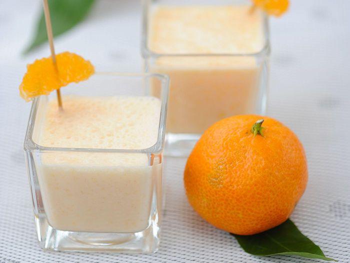 Découvrez la recette de la crème aux clémentines