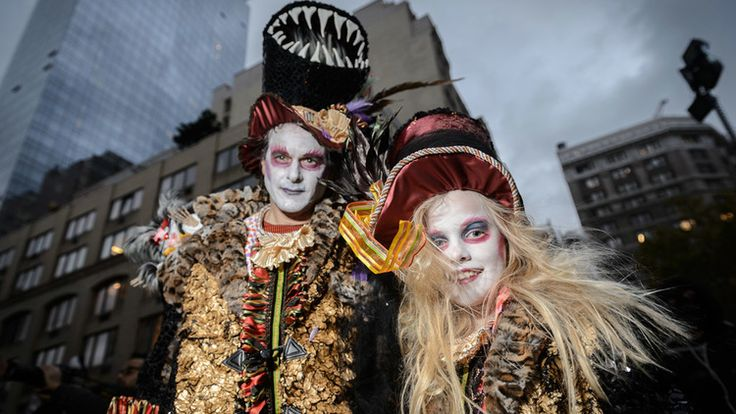 Guide to Halloween in #NYC from haunted houses to costumes