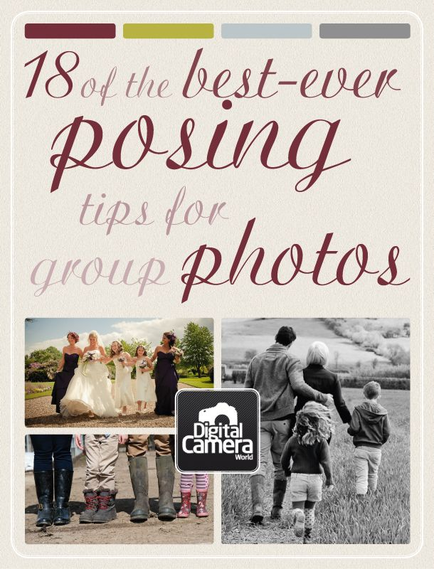 18 of the best-ever posing tips for group photos
