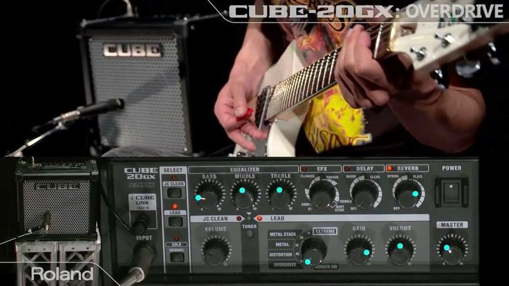 Roland CUBE-20GX Guitar Amplifier Sound Preview