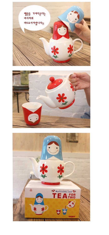 matryoshka tea set
