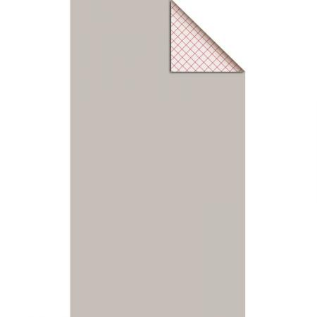 Feutrine adhésive polyester 1 mm 25 x 45 cm - Gris Souris