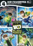 4 Kid Favorites: The Ben 10 Alien Force Collection [4 Discs] [DVD]