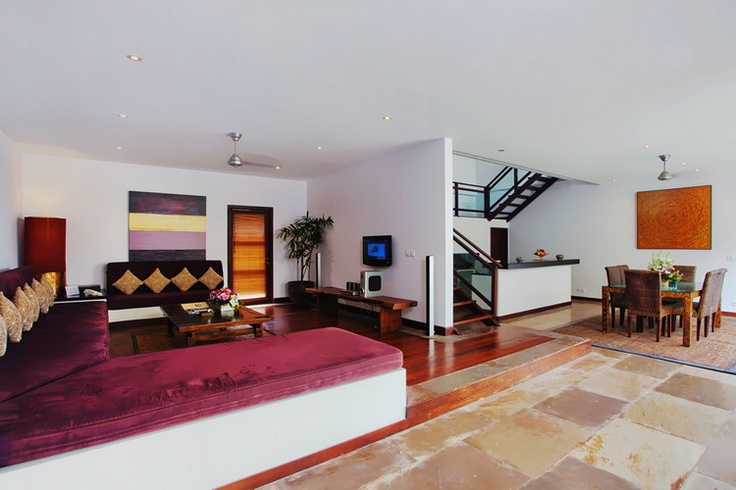 Imperial 3 Bedroom Villa Living Room area