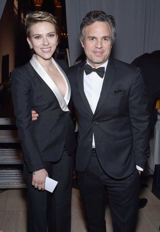 Scarlett Johansson e Mark Rufallo (Foto: Getty Images)