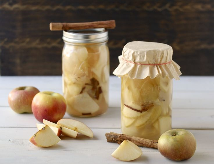 fermented apples. I should make this since I have so many apples.