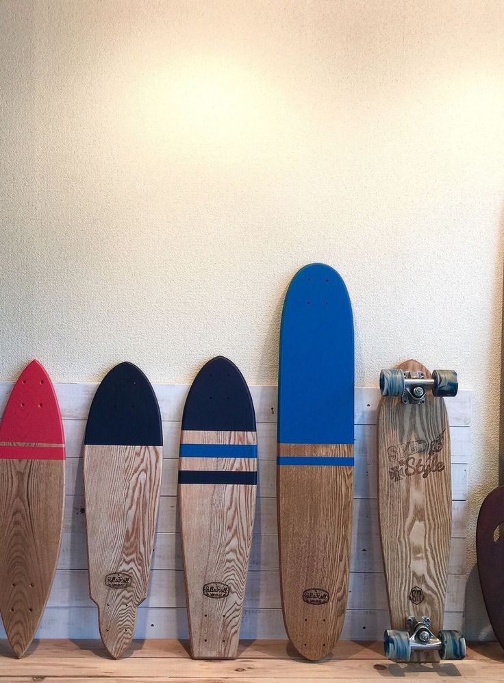 OLD CLASSIC WOOD SKATEBOARDS / SLLAROLL SKATEBOARDS