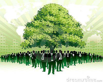 Global green business by Boguslaw Mazur, via Dreamstime