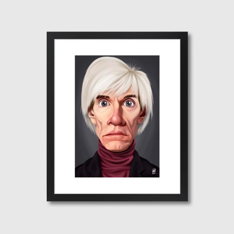 Celebrity Sunday - Andy Warhol | Monde Mosaic art | decor | wall art | inspiration | caricatures | home decor | idea | humor | gifts