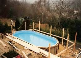 Above ground pool privacy panels bing images our house for Above ground pool siding ideas