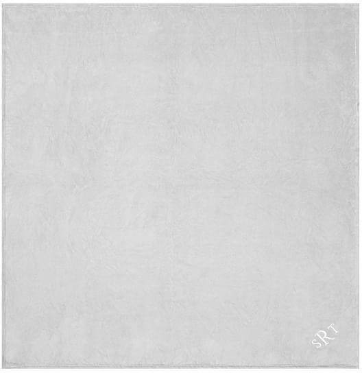 Pottery Barn Teen Plush Blanket, Twin/XL Twin, Light Gray