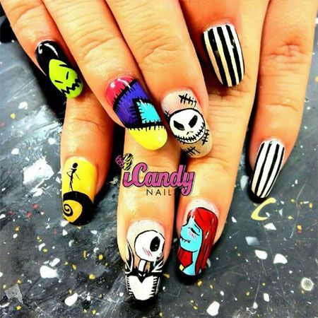 164 best halloween nail art images on pinterest halloween nails 10 halloween 3d nail art designs ideas trends stickers 2014 prinsesfo Choice Image