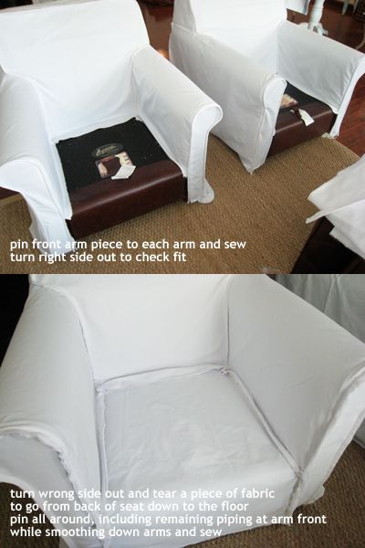 a designer obsessed with pretty things, beautiful spaces, interesting places and...handbags!: [ white slipcover how-to part 2 ]