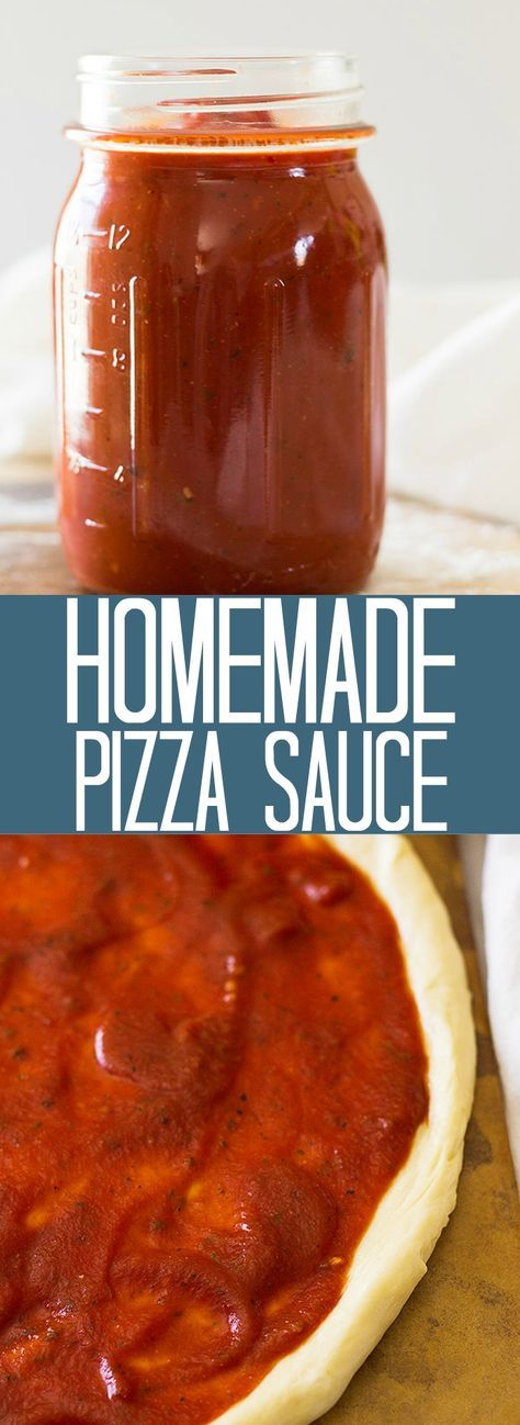Use sugar sub. This quick and easy Homemade Pizza Sauce that comes together in 10 minutes and is perfect for all your homemade pizzas! | www.countrysidecravings.com