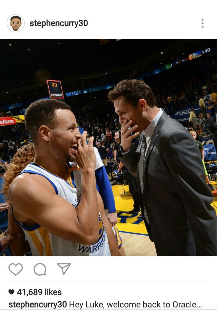 Steph and Luke Walton