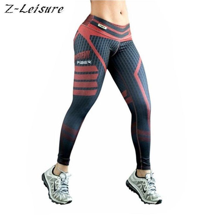 Women Fitness Yoga Pants Women Fitness Slim Sexy Yoga Leggings Elastic Pants High Waist Ladies Winter Running Tights YG014