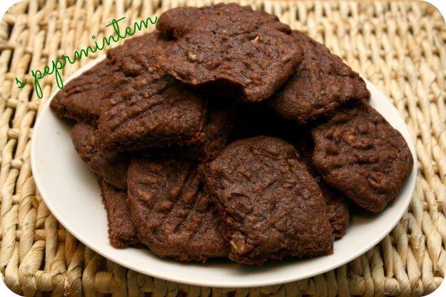 DOBROTY DULINKA: Peprmintové čokoládové sušenky