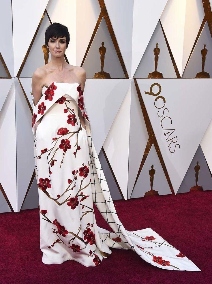 Alfombra roja Premios Oscar 2018 - Paz Vega