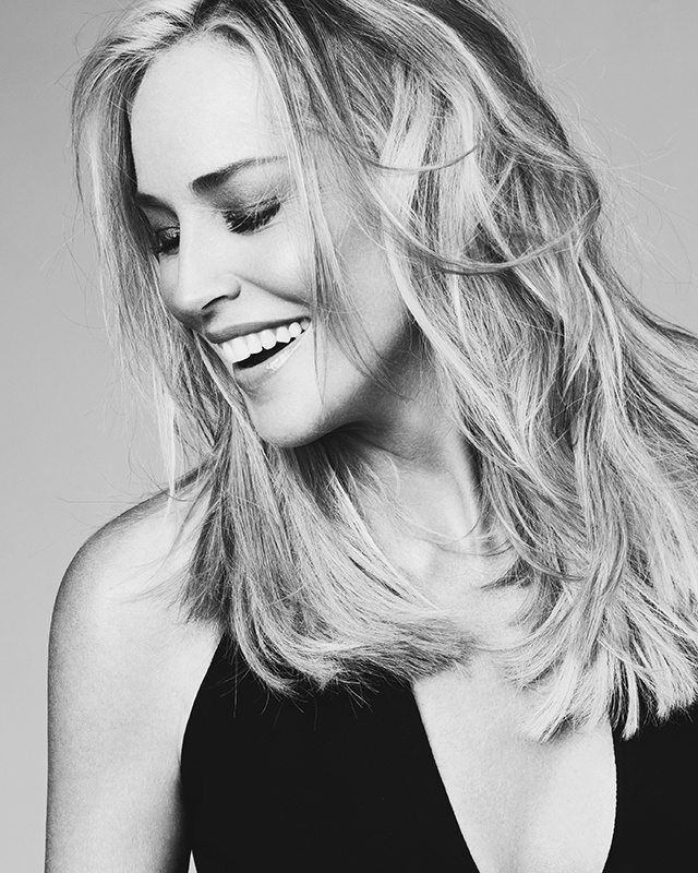 Inspirational Quotes About Positive: Sharon Stone Los Angeles SCREEN Professional Campaign By