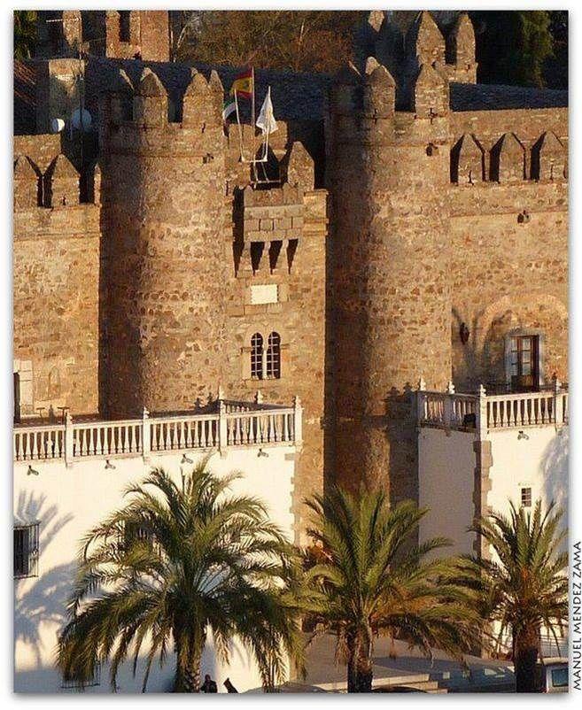 Palacio de los Duques de Feria, actual Parador Nacional de Turismo.