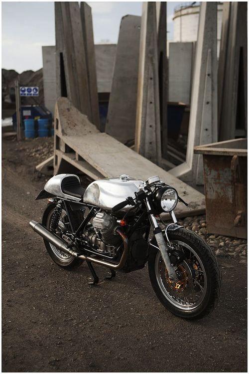 Moto Guzzi 850 T3 via Silodrome