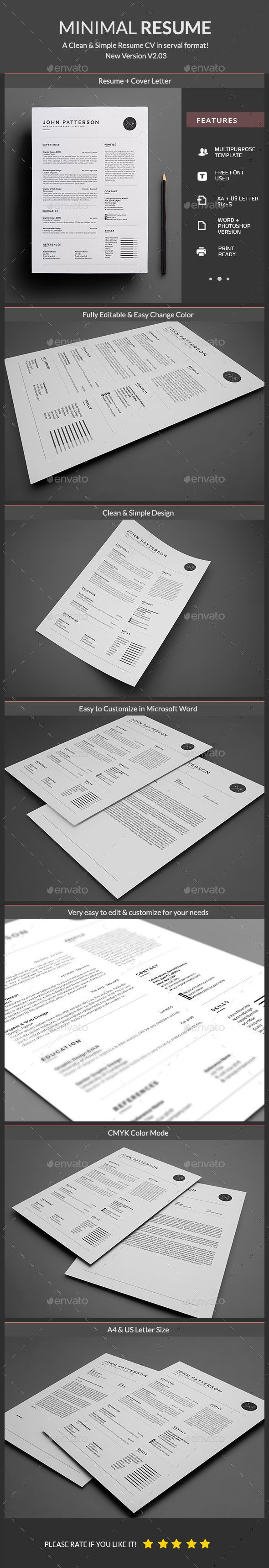 52 best Resume images on Pinterest | Resume templates, Cv template ...