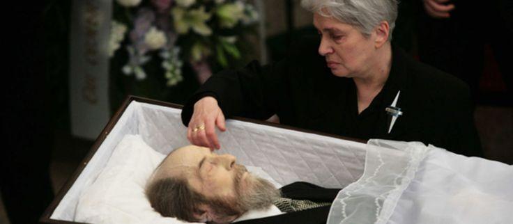 Alexandre Soljenitsyne: le dernier geste d'amour de sa femme