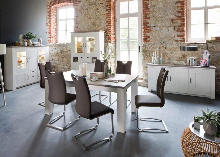 Die besten 25+ Landhausmöbel weiss Ideen auf Pinterest - Esszimmer Modern Weiss