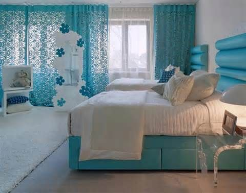 White And Turquoise Bedroom Ideas - Blue And White Bedroom Ideas Teenage Girls