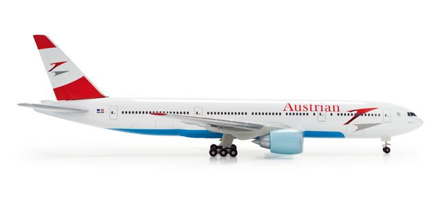 Austrian Airlines | 777-200 | Heart of Europe