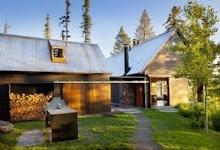 Stone Creek Camp- Gorgeous Eco-Lodge Built on Flathead Lake in Montana