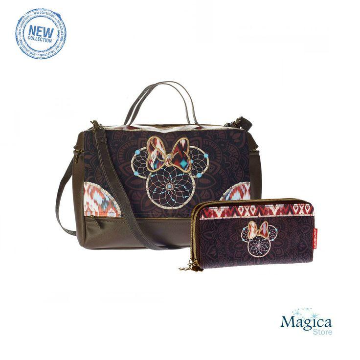 Womans Fashion Tuscany bag + purse MINNIE BOHO * New | Authentic | Licensed* #Karactermania #Tuscanybag