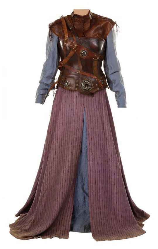 Susan Pevensie castle raid costume/armour from The Chronicles of Narnia: Prince Caspian
