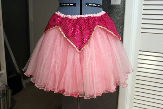 Aurora Sleeping Beauty inspired Running Tutu for Disney Princess Race- 5K, 10K, Half Marathon! Ready to Ship! Size small