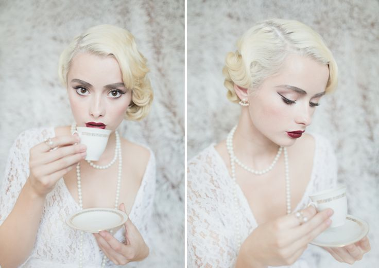Retro Make-up & Hair Styling: www.petrasoukupova.com, Model: Marketa F. Photo: Nikol Obrová