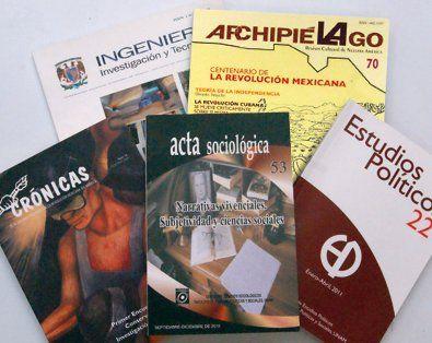Revistas Científicas y Arbitradas de la UNAM
