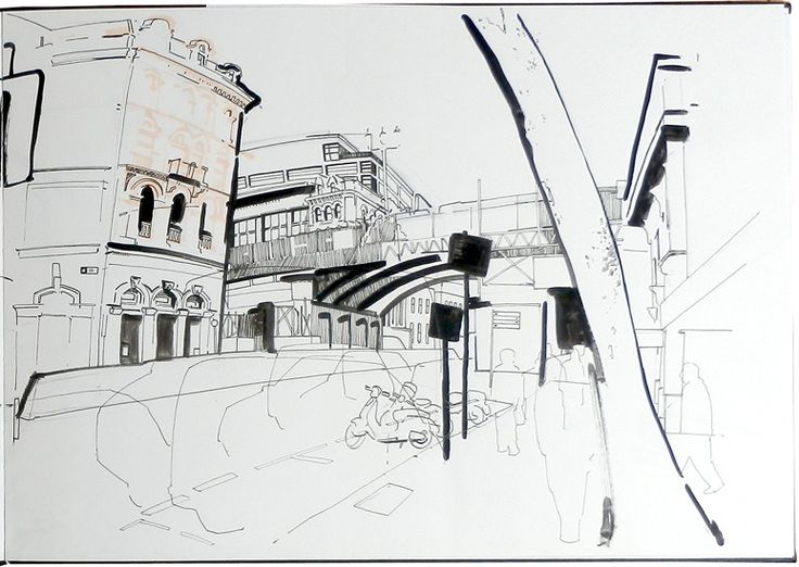 Lyndon Hayes - New Bridge Street - Farringdon