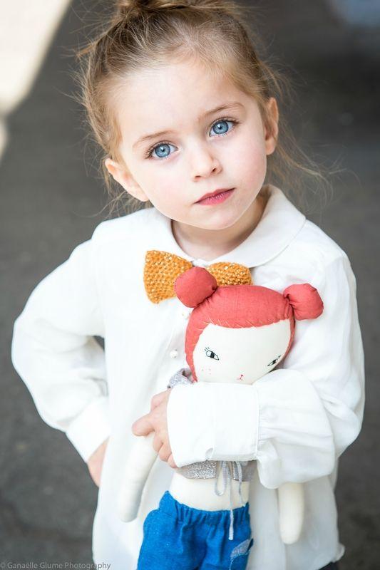 beautiful blue eyes - retouchée