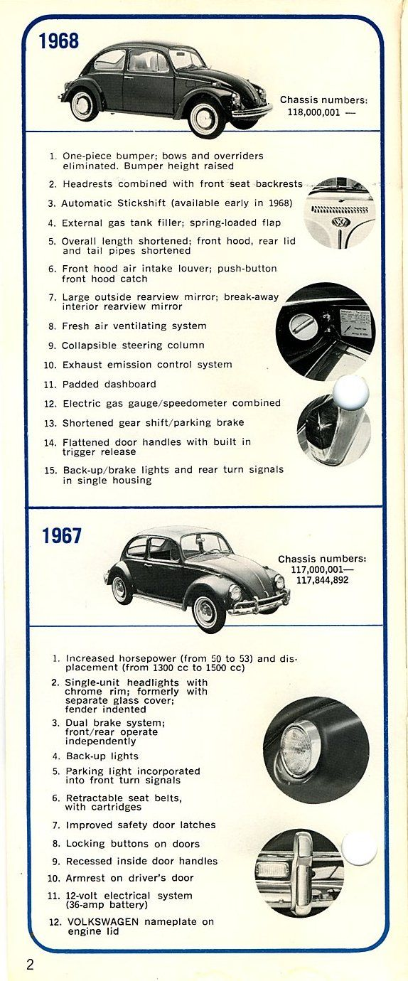 Vw beetle how to tell what year it is 5 http