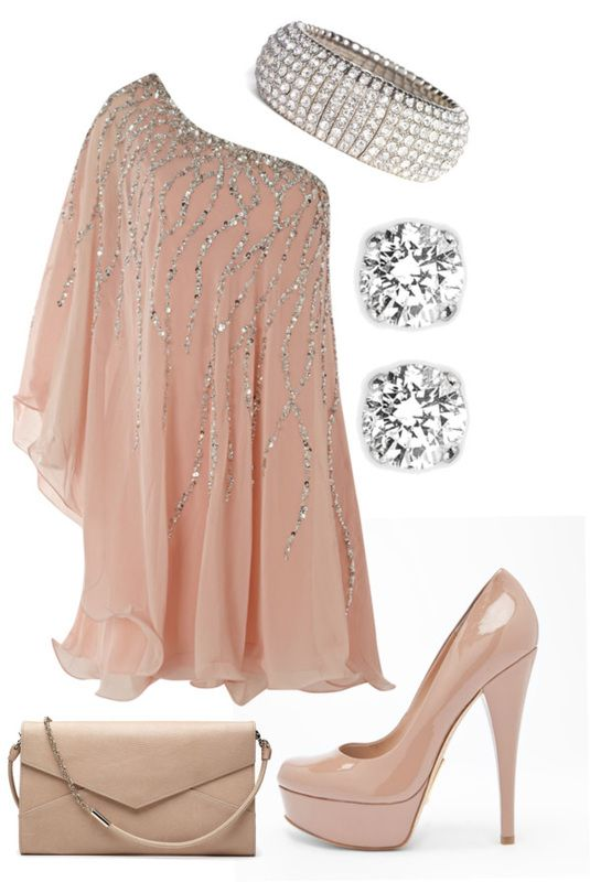 Stunning Outfit: Date Night, One Shoulder, Carrie Bradshaw, New Years Eve, Dresses Outfits, The Dresses, Birthday Outfits, Datenight, Princesses Outfits