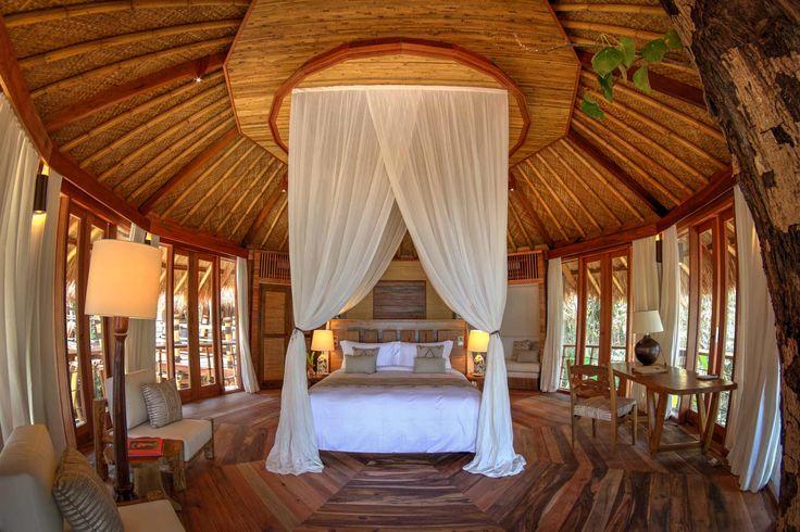 Mamole Tree House | 3 bedrooms | Sumba, Indonesia #interior #design #bedroom #home #villa #sumba #luxury