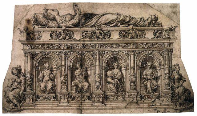 Σχεδιασμός για το τάφο της Ισαβέλας της Αυστρίας (1526)