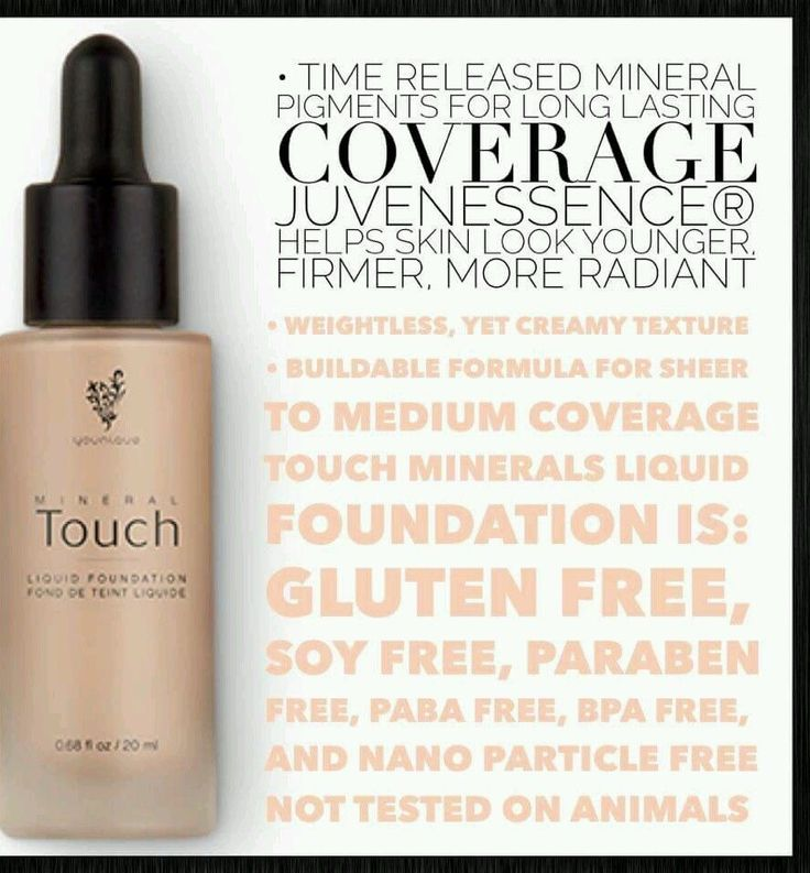 Younique Touch Mineral Liquid Foundation www.youniqueproducts.com/kittyballard