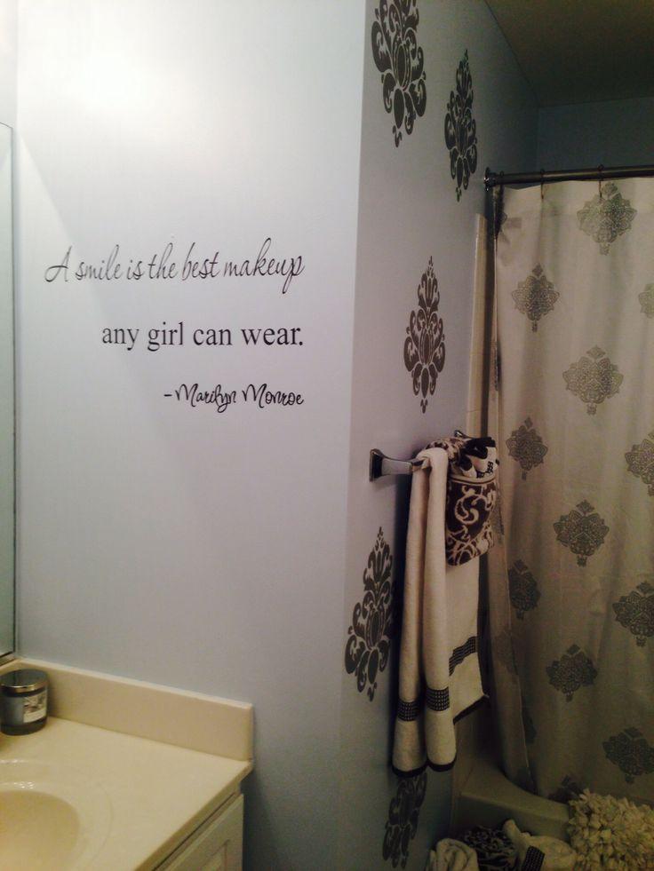 Cute Bathroom Quotes Quotesgram