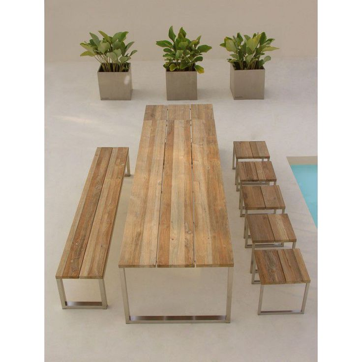OKO Table and Benches