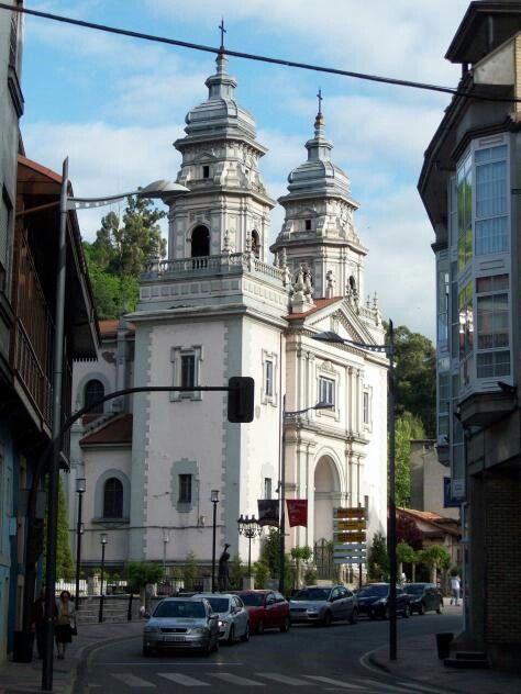 Iglesia de San Juan. Mieres. Asturias. Spain.