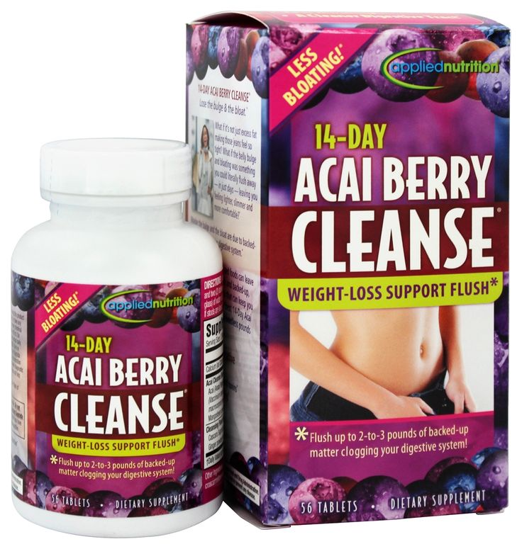 Buy Applied Nutrition - 14-Day Acai Berry Cleanse - 56 Tablets at LuckyVitamin.com