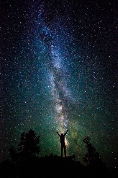 The Milky Way - This one is in Great Basin National Park - Nevada.  I've heard the Utah national parks are good places to see the Milky way as well
