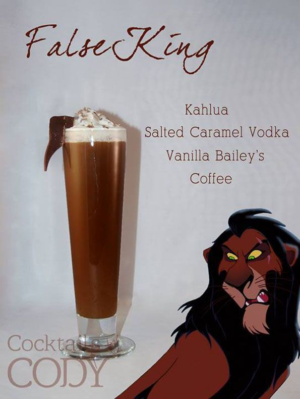 Disney Inspired Alcoholic Drink #11